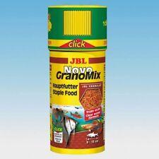 JBL NOVO GRANOMIX CLICK 115GR 250ML ALIMENTO GRANO ACUARIO PECES AGUA DULCE