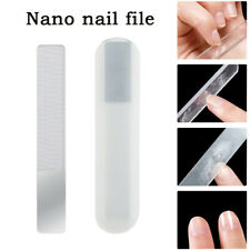 Professional Nano Polished Glass Nail File Transparent Sanding Grinding Shiner