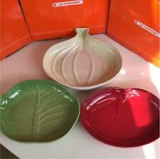 Le Creuset Vegetable M Tomato Cabbage Onion Set New and Unused From JAPAN F/S