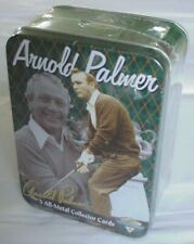 New listing Metallic Impressions 2001 Arnold Palmer All-Metal Golf Collector Card Set – New