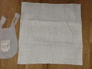 "Coyuchi Pebbled Handstiched Organic Cotton Euro Sham 26"" x 26"""