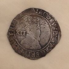 """King James I Shilling """"Contemporary faux?"""" SILVER HAMMERED coin 1st"""