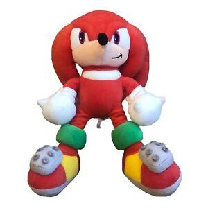 "Sonic Hedgehog Red Plush Soft Toy Sega Prize Europe 14"" Arcade"