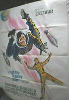 XXL Filmplakat,Plakat,TIENS BON LA RAMPE JERRY,WAY ..WAY OUT,JERRY LEVIS#119