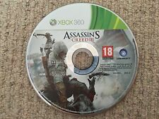 Assassins Creed 3 III DISK 2 - Xbox 360 DISK 2 ONLY UK PAL