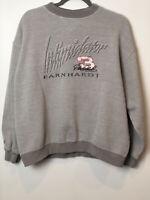 Vintage Chase Authentics Dale Earnhardt #3 Sweatshirt Crew Neck Gray Size L