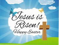 """*Postcard-""""Jesus Is Risen!""""....Happy Easter (See Scans)"""