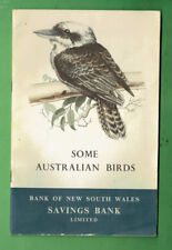 #D381.   1957  AUSTRALIAN BIRDS  BOOKLET - THE NEW SOUTH WALES BANK