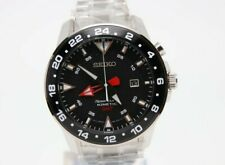 Seiko Sportura Kinetic GMT brand new / old stock sun015p1 RARE flagship watch A+