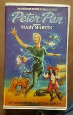 PETER PAN STARRING MARY MARTIN 30TH ANNIVERSARY CLCTRS EDITION VHS