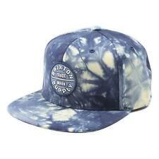 Brixton Youth Boys Oath Snapback Hat Navy Tie Dye One Size New