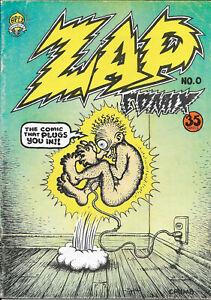 Zap Comix No. 0 (2nd Printing, 1967/68) Robert Crumb The Print Mint/Apex Novelty