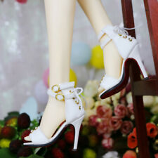1//3 SD BJD Shoes Wedge Heel Archaic Embroidered Shoes for AS AOD DOD POPO Noble