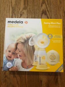 Medela Swing Maxi Flex 2-Phase Double Electric Breast Pump, Used Once
