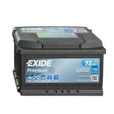 Exide Premium CARBON BOOST EA722 Autobatterie 12V 72Ah Batterie Starterbatterie