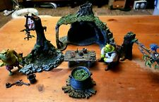 Rare McFarlane Shrek - Swamp House, Swamp, 2 Shrek figures & accessories