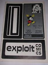 EXPLOIT COMICS  N° 10 ( DEDICATO AL PERSONAGGIO DI  SCORCHY SMITH ) 1978