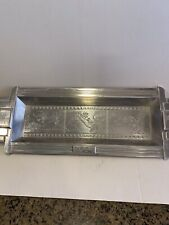 Disney Mickey Mouse Silver Plane Crazy Pattern Rectangle Serving Tray