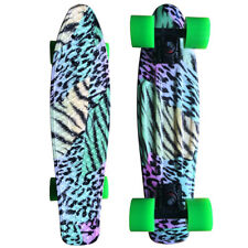 22 Cruiser Skateboard Penny Style Board Graphic Leopard Free Shipping