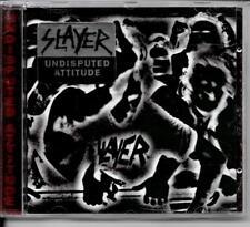 CD ALBUM 15 TITRES--SLAYER--UNDISPUTED ATTITUDE--1996