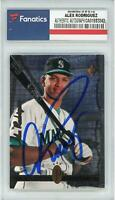 Alex Rodriguez Seattle Mariners Signed 1994 Upper Deck SP Foil RC #15 Card