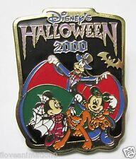 Disney Tokyo Halloween Mickey Mouse Minnie Mouse Pluto Pin **
