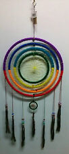Dream Catcher Native American Indian Spiritual Dreamcatcher Wall Art Rainbow