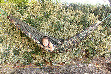 Hammock w/ Bug Mosquito Net - Outdoor Camping Backpacking Camo Military Jungle
