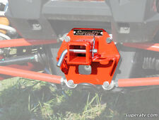 SuperATV Polaris RZR 1000/Turbo ORANGE Rear Receiver Hitch