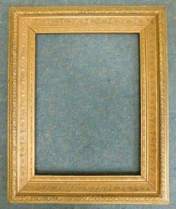Superb Antique Ornate Gilt Wood Picture Frame for Painting or Photo 1900s