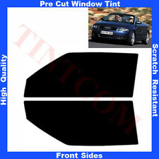 Pre Cut Window Tint Audi A4 Cabriolet 2002-2005 Front Sides Any Shade