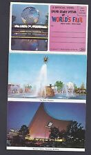 1964 Worlds Fair Ny 6 Page Fold Out, Mint