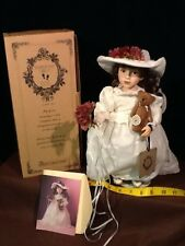 "BOYD""S BEARS THE YESTERDAYS CHILD COLLECTION DOLL EMILEE & OTIS #4808"