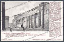 SIRACUSA CITTÀ Cartolina 2. Serie CASA DEI VIAGGIATORI