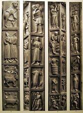 Photoengraving Gate Virgin 2 Notre-Dame de Paris Photos Emmanuel Sougez 1941