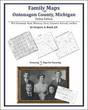 Family Maps Ontonagon County Michigan Genealogy MI Plat