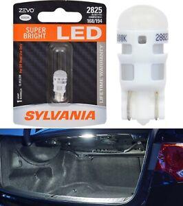 Sylvania ZEVO LED light 2825 White 6000K One Bulb Trunk Cargo Replace Upgrade