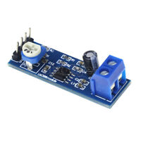 Smart Electronics LM386 Audio Amplifier Module 200 Times 5V-12V Input 10K