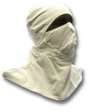 ANTI-FLASH HOOD ROYAL NAVY ISSUE OLD STOCK BRAND NEW IN PACKETS. FLAME RETARDANT