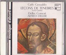 LECONS DE TENEBRES - GESUALDO CARLO (CD) - Harmonia mundi
