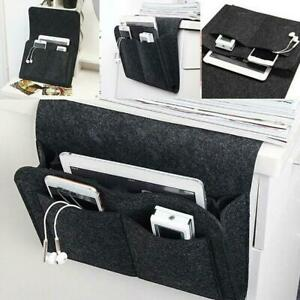 Felt Bedside Storage Caddy Hanging Bag Sofa Organizer Pocket Home Book New