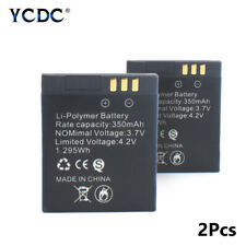 3.7V Rechargeable Li-ion Polymer Battery 350mAh For Smart Watch GT08 Only X2 34