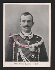 1915 Effigie Vittorio Emanuele II. re d'Italia WWI