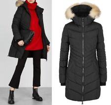 "Pajar Queens 34""Long Down Parka Faux Fur Trimmed Winter Coat Black up to -22F L"