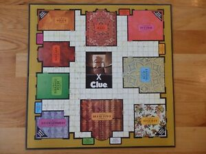 Clue Game Board Only 1972
