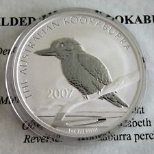 Australia 2007 1 OZ (approx. 28.35 g) .999 dólar de plata Kookaburra-cert. de autenticidad
