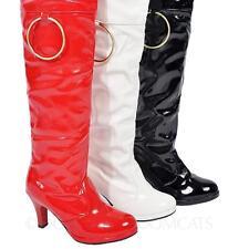 Overkneestiefel lack high heels Schuhe Lackstiefel Damenstiefel Herren stiefel