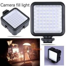 49 LED Video Camera Light Panel Lamp 6000K for Universal Camera photography