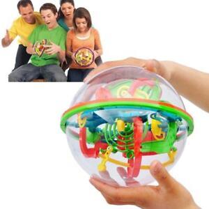 100 Barriers 3D Labyrinth Magic Intellect Ball Balance Maze Perplexus Funny Toy