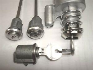 New Door & Glove Locks & Ignition Switch & Keys Willys Jeep Wagoneer J Commando